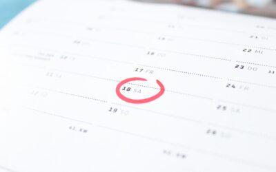 Daňový kalendář 2021 pro podnikatele